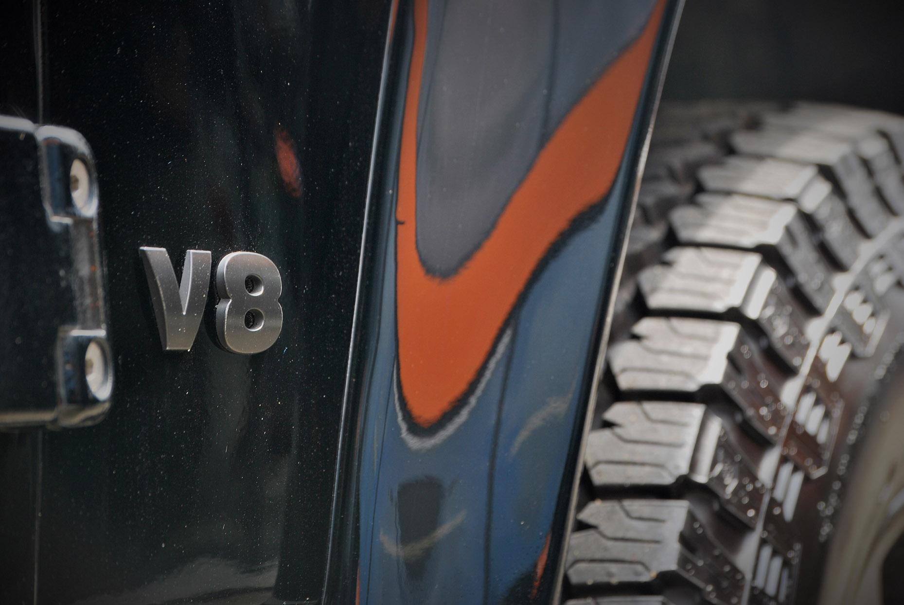 Landrover Defender V8