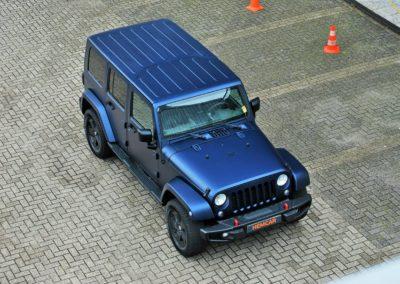 Jeep Wrangler Unlimited Mat Blue