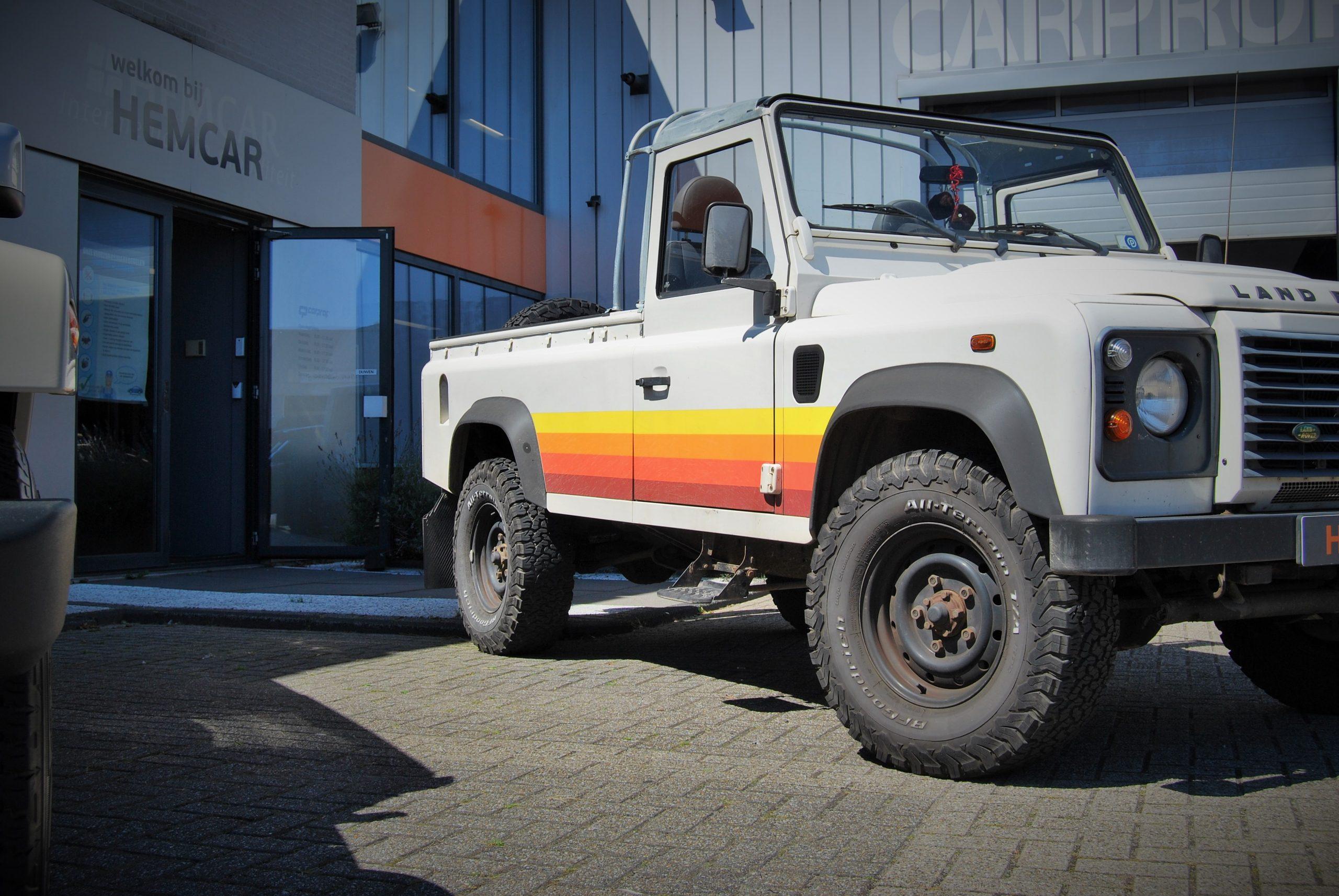 Landrover Defender V8 rebuild