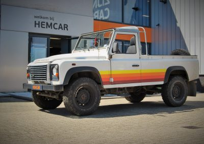 Land Rover Defender Pick up Summer Feelings